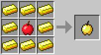 congthuc_chetao_minecraft_goldenapple