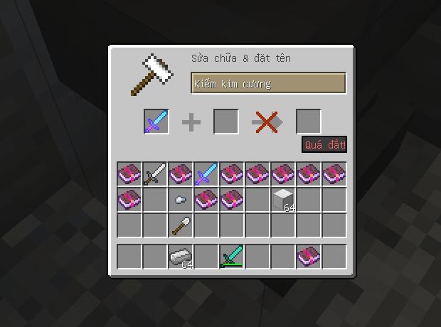 Một thanh kiếm sau khi sử dụng đe nhiều lần đã bị Quá đắt